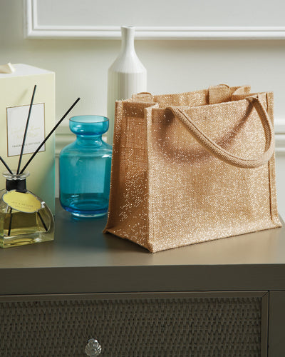 W431 Westford Mill Shimmer Jute Mini Gift Bag
