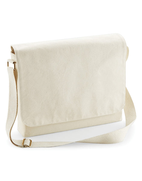 W464 Westford Mill FairTrade Cotton Canvas Messenger