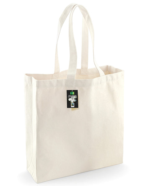 W623 Westford Mill Fairtrade Cotton Classic Shopper