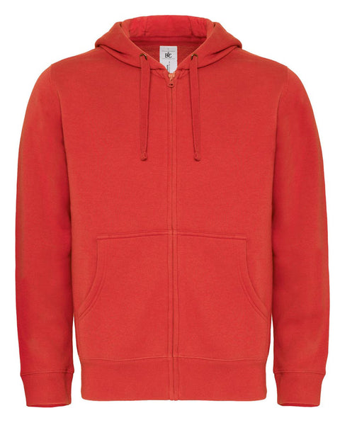 WM647 B&C Hooded Men's Full Zip Sweat