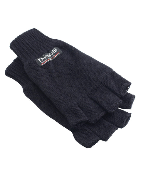 WN783 Yoko 3M Thinsulate™ Half Finger Gloves