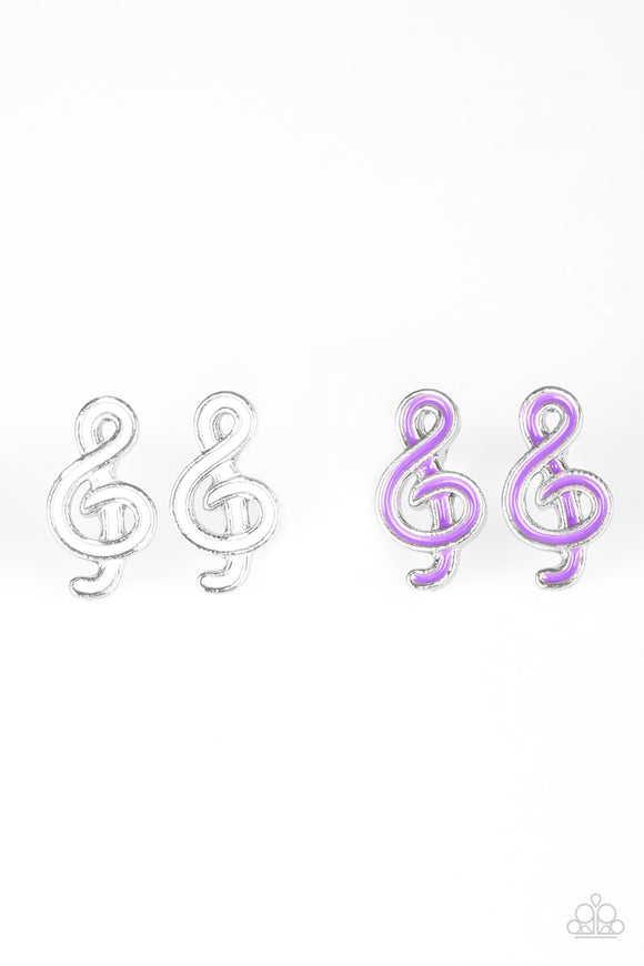 Paparazzi Starlet Shimmer Earrings - Music Notes - Lauren's Bling $5.00 Paparazzi Jewelry Boutique