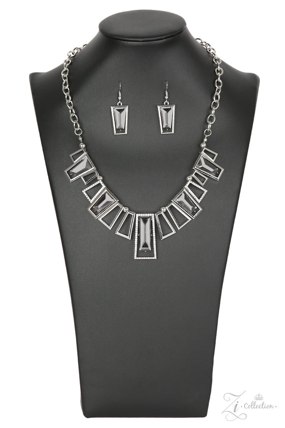 Paparazzi Victorious - Zi Collection - Necklace and matching Earrings