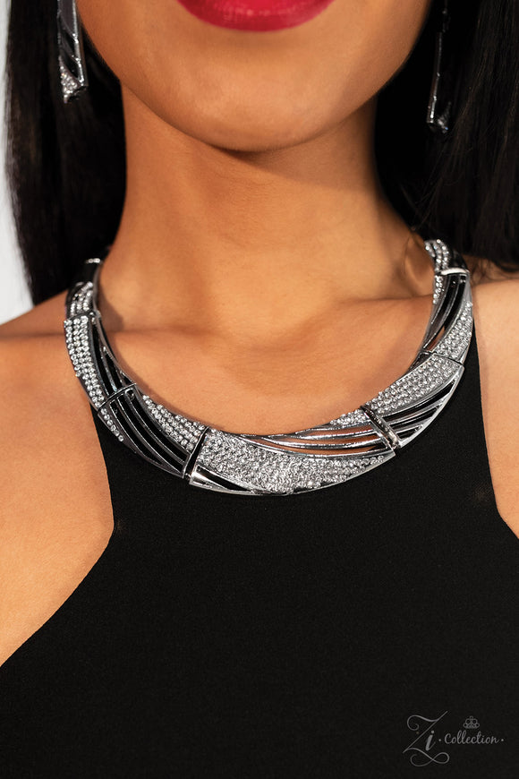 Paparazzi Independent Necklace - Zi Collection - Necklace and matching Earrings