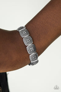 Paparazzi Radiantly Riviera - Silver Bracelet - Lauren's Bling $5.00 Paparazzi Jewelry Boutique