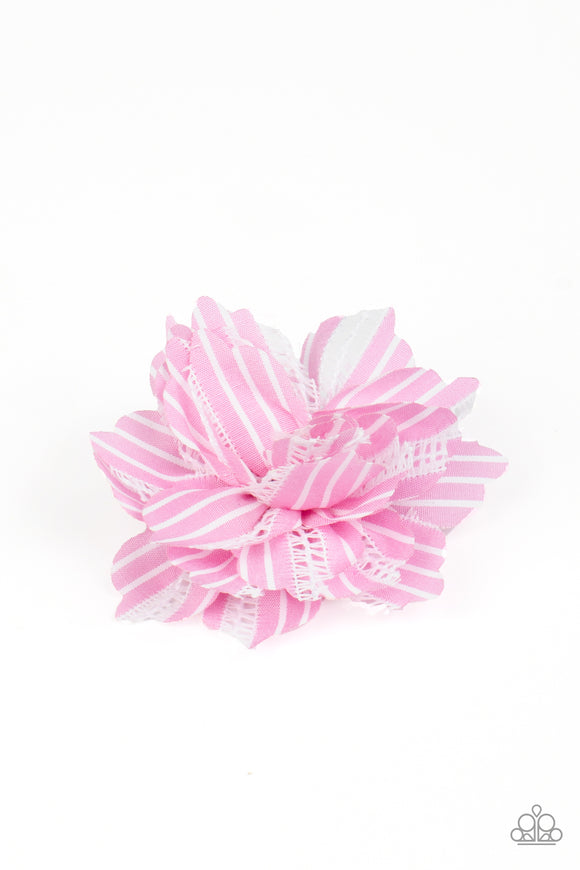 Paparazzi Starlet Shimmer STRIPE For The Picking - Pink - Hair Clip