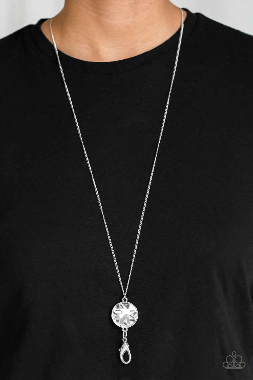 Gymnastics Diva Necklace Jewelry Art Pendant in SILVER BEZEL with Link Chain Included APN244