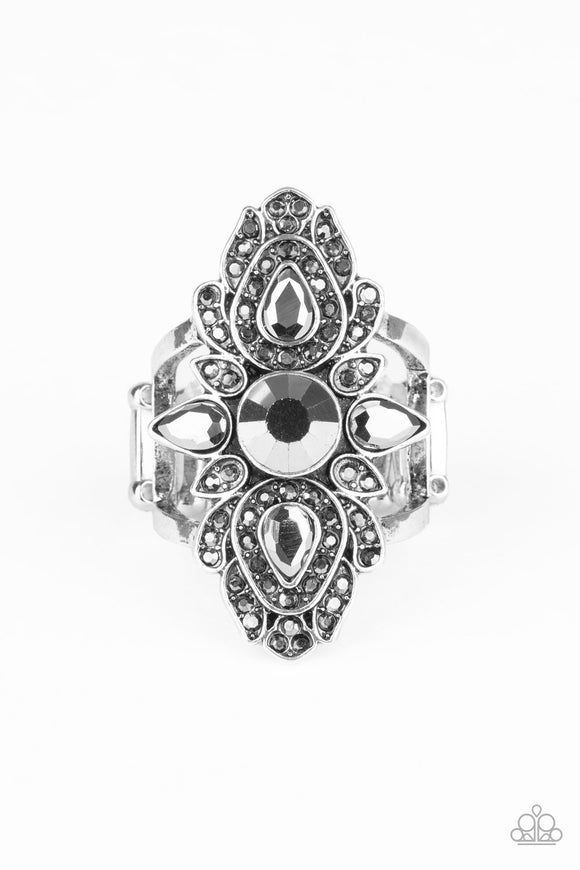 Paparazzi Glam Demand - Silver - Ring