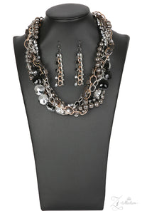 Paparazzi Unapologetic - Zi Collection - Necklace and matching Earrings - Lauren's Bling $5.00 Paparazzi Jewelry Boutique