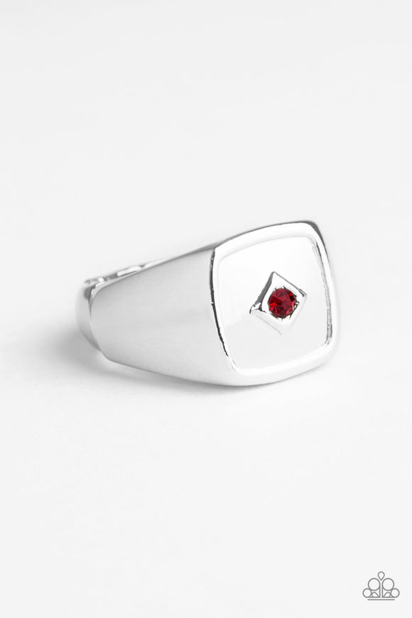 PRE-ORDER - Paparazzi Immortal - Red - Ring - Lauren's Bling $5.00 Paparazzi Jewelry Boutique