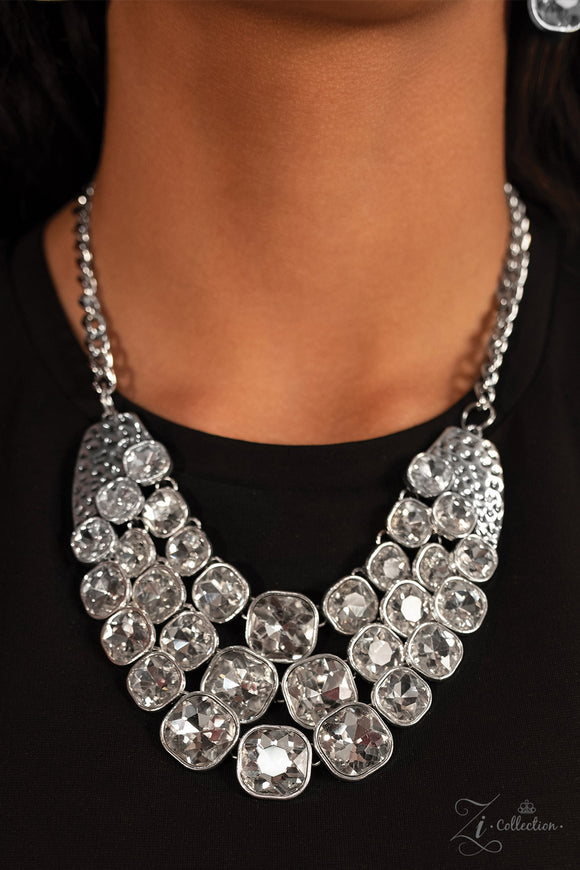 Paparazzi Unstoppable - Zi Collection - Necklace and matching Earrings