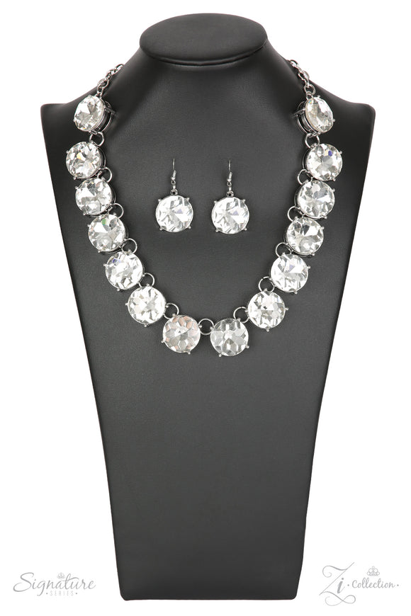 Paparazzi The Marissa - Zi Collection - Necklace and matching Earrings