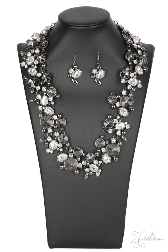 Paparazzi Phenomenon Necklace - Zi Collection - Necklace and matching Earrings