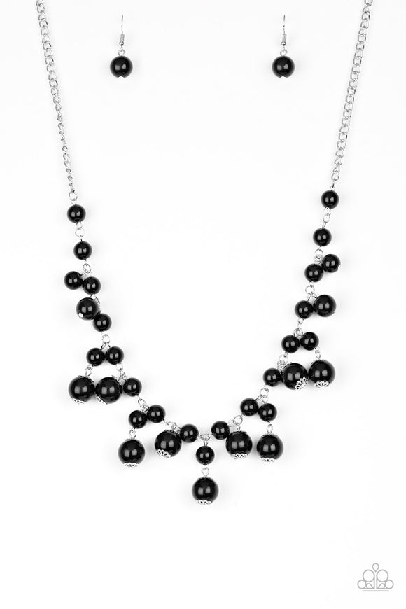 Soon To Be Mrs. - Black - Necklace
