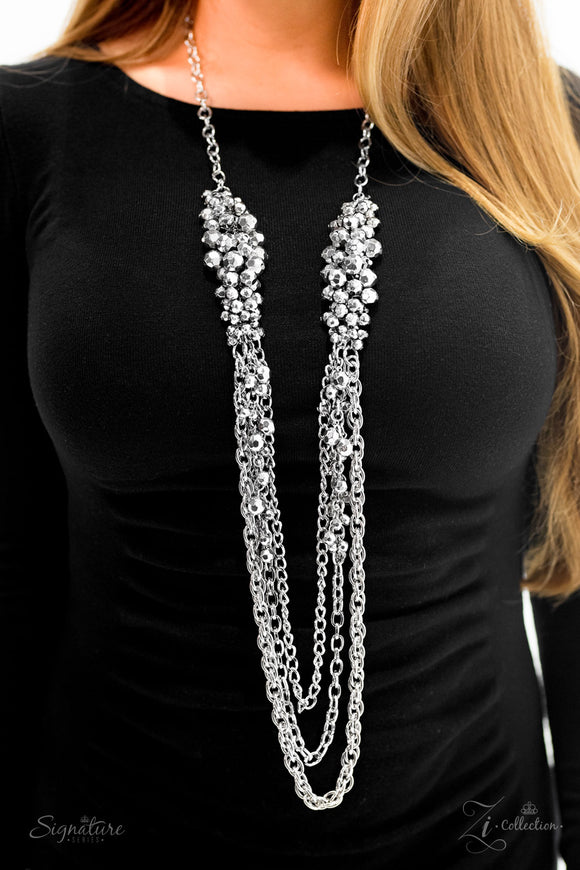 Paparazzi Retired The Shelley - Zi Collection - Necklace and matching Earrings - Lauren's Bling $5.00 Paparazzi Jewelry Boutique