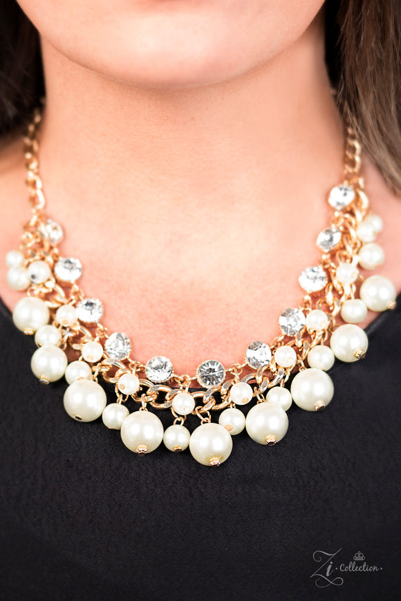 Paparazzi Retired Idolize Necklace and matching Earrings - Zi Collection