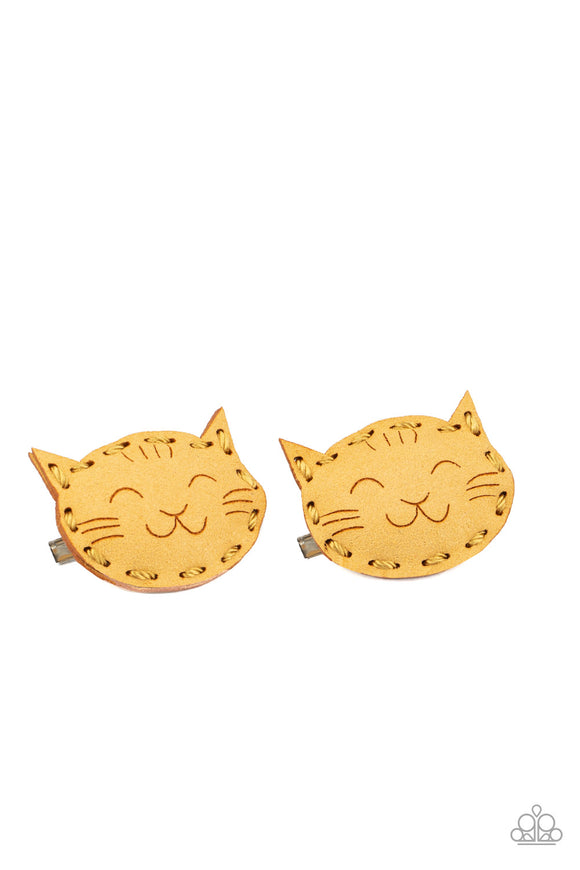 Paparazzi MEOW Youre Talking! - Puffy Pair of Cat Hair Clips - Lauren's Bling $5.00 Paparazzi Jewelry Boutique