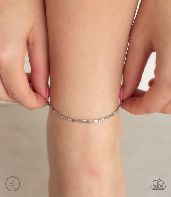 Paparazzi Sun-Kissed Radiance - Silver Ankle Bracelet - Anklet