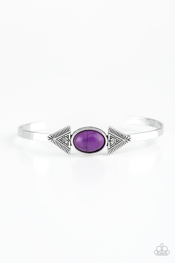 Apache Trail - Purple - Bracelet