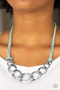 Paparazzi Naturally Nautical - Blue - Necklace and matching Earrings - Lauren's Bling $5.00 Paparazzi Jewelry Boutique