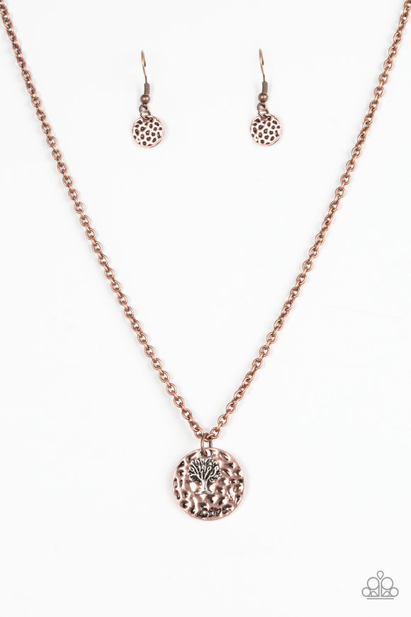 Live TREELY - Copper Necklace - Lauren's Bling $5.00 Paparazzi Jewelry Boutique