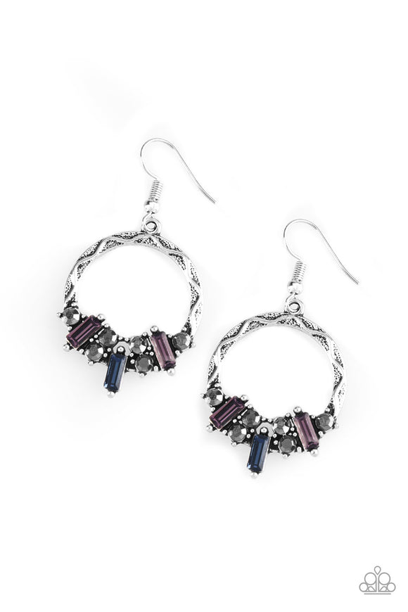 On The Uptrend - Multi Earrings - Lauren's Bling $5.00 Paparazzi Jewelry Boutique