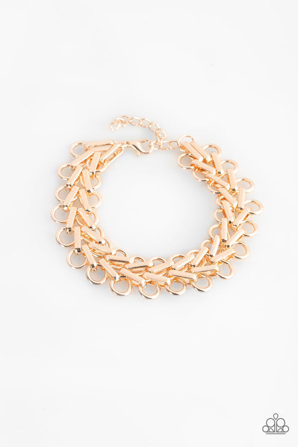 Atlanta Attitude - Rose Gold - Bracelet
