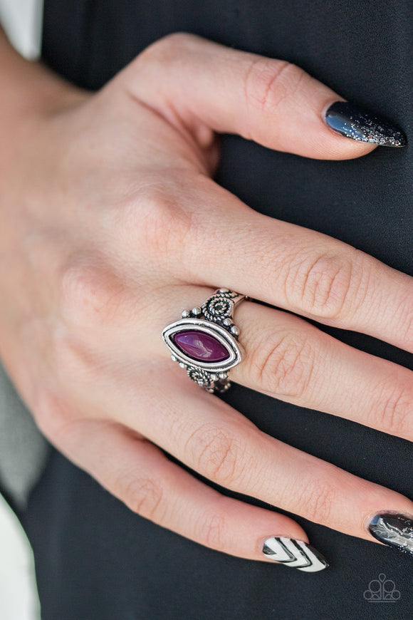 Paparazzi ZOO Hot To Handle - Purple - Ring - Lauren's Bling $5.00 Paparazzi Jewelry Boutique