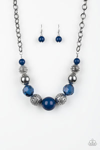 Paparazzi Sugar, Sugar - Blue Beads - Necklace and matching Earrings - Lauren's Bling $5.00 Paparazzi Jewelry Boutique