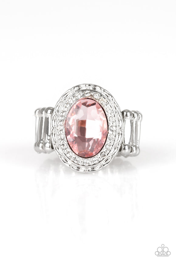 PRE-ORDER - Paparazzi Fiercely Flawless - Pink - Ring