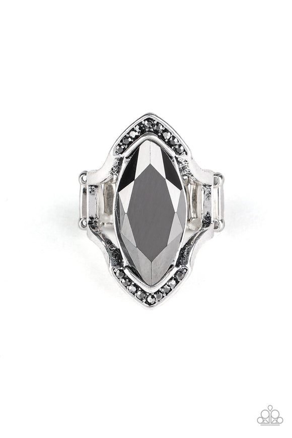 Paparazzi Leading Luster - Silver - Ring