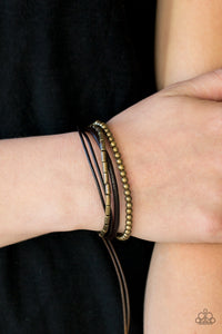 Gypsy Magic - Brass Bracelet - Lauren's Bling $5.00 Paparazzi Jewelry Boutique