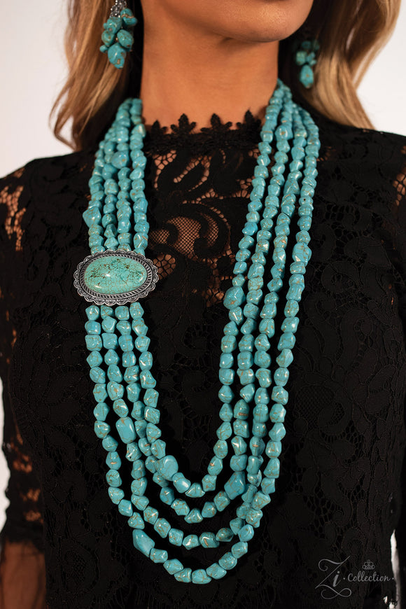 Paparazzi Maverick Necklace - Zi Collection - Necklace and matching Earrings