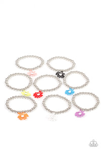 PRE-ORDER - Paparazzi Starlet Shimmer Bracelets, 10 - Whimsical Floral Charms - Lauren's Bling $5.00 Paparazzi Jewelry Boutique