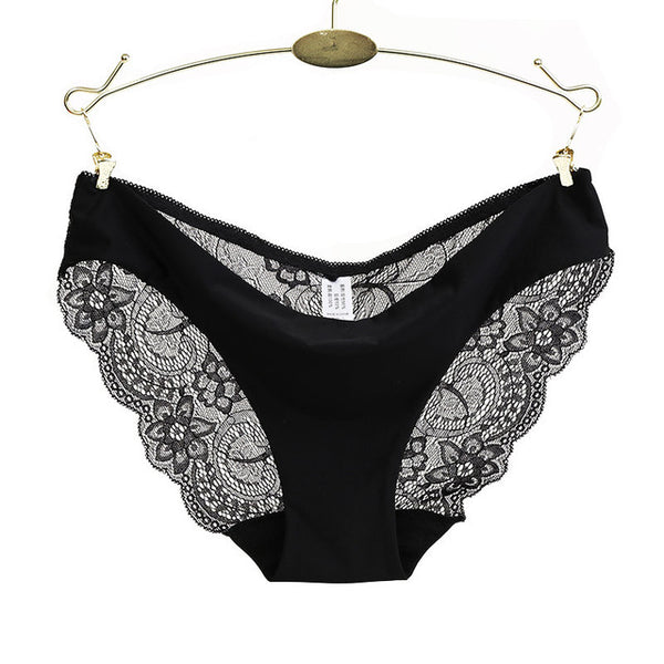 RE Ladies underwear woman panties fancy lace calcinha renda sexy panties for women traceless crotch of cotton briefs hot sale