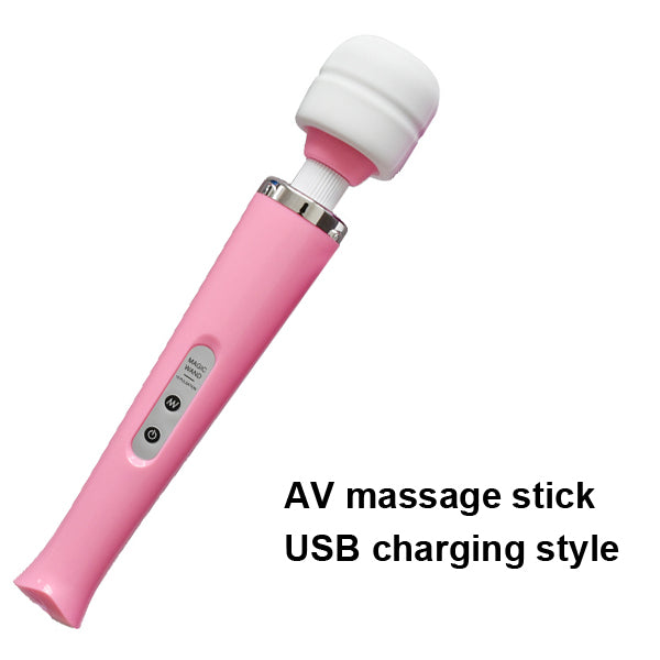 2017 New 10 Speeds Magic Wand Massager,Big Magic Wand Massage Stick AV Vibrators Sexy Clit Vibrator Sex Toys for Women 32 * 6CM