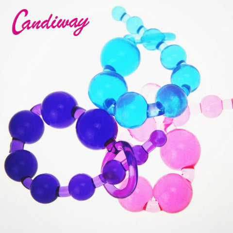 Sale Orgasm Vagina Plug Play Pull Ring Ball Sexy Sex Novelties Jelly Anal Special Toy Beads Chain Adult Sex toys HH001