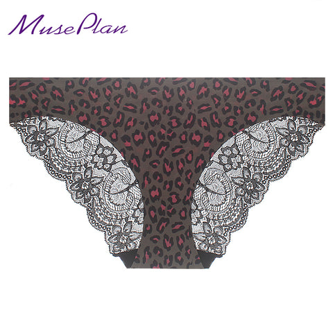 S-2XL! seamless low-Rise  women's sexy lace lady panties seamless cotton breathable panty Hollow briefs Plus Size girl underwear