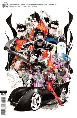 Batman The Adventures Continue (2020) #2 DUSTIN NGUYEN VAR ED