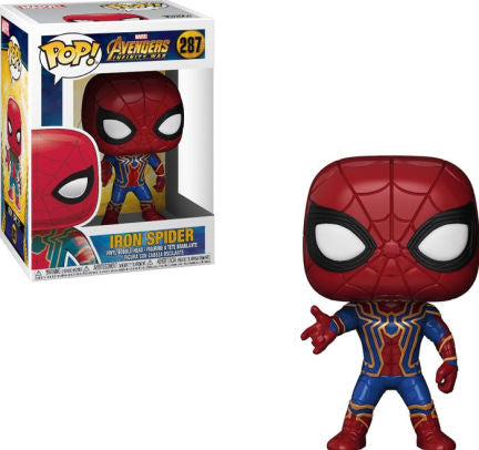 Pop Marvel Avengers Infinity War Iron Spider Vinyl Figure