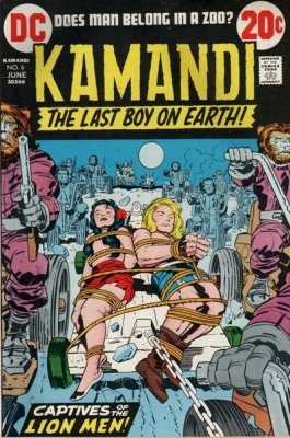 Kamandi, the Last Boy on Earth (1972) #6