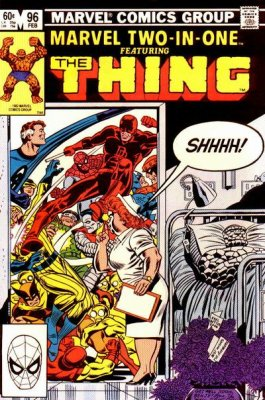 Marvel Two-In-One (1974) #96