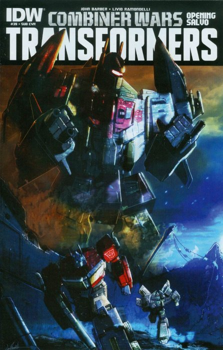 Transformers (2012) #39 (Subscription Variant)