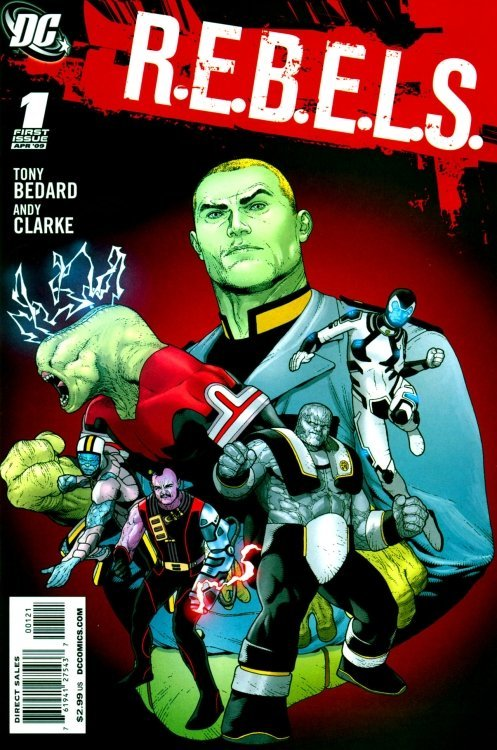 Rebels (2009) #1 (Variant Edition)