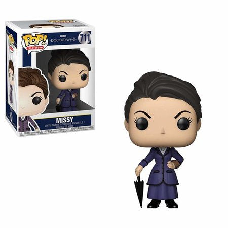 Pop TV Doctor Who Missy Vinyl Figure