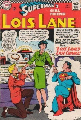 Supermans Girlfriend Lois Lane (1958) #69