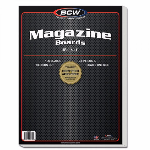 Magazine Backing Boards (100 Count Pack)