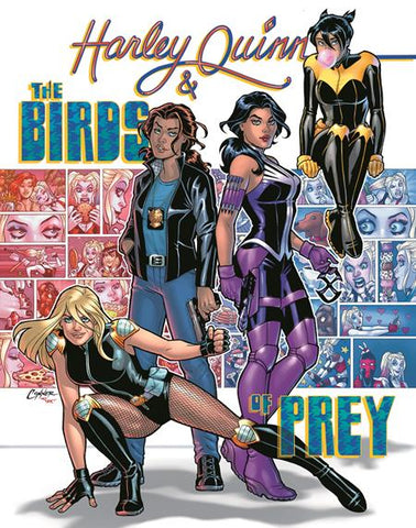 HARLEY QUINN AND THE BIRDS OF PREY #4 (OF 4) CVR A AMANDA CONNER (MR)