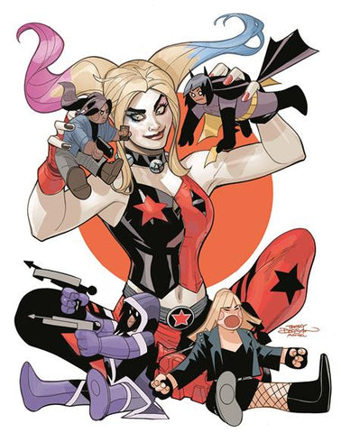 HARLEY QUINN AND THE BIRDS OF PREY #4 (OF 4) CVR B TERRY DODSON VAR (MR)