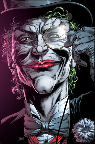 "Batman Three Jokers (2020) #2 Premium Variant E (""Death in the Family"" top hat and monocle)"